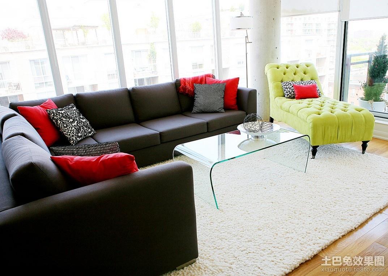 两室两厅装修图 两室两厅客厅装修效果图 高清图片