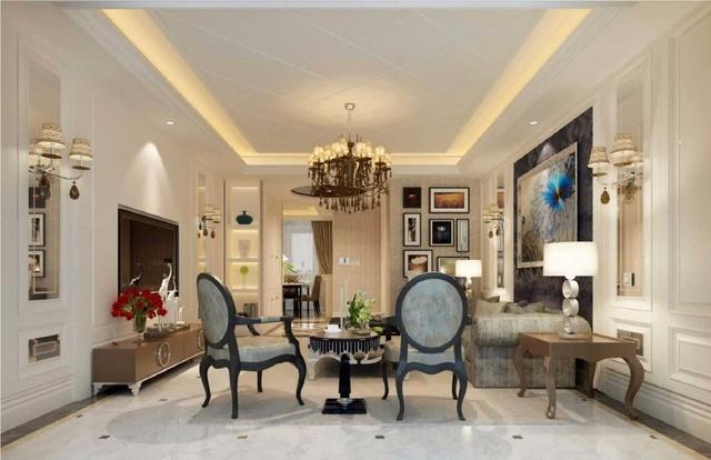 这几款欧式风格的客厅装修,你们更喜欢哪一个?图片