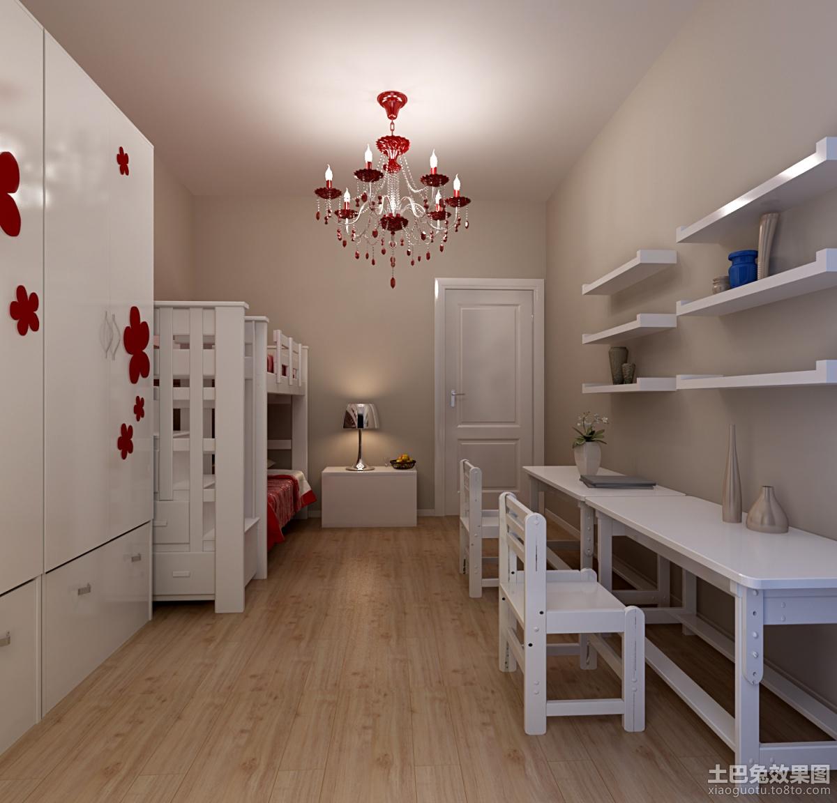 儿童卧室书房装修效果图大全2013图片 高清图片