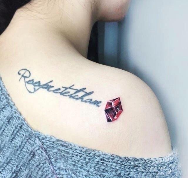 英文字母手上纹身分享展示图片