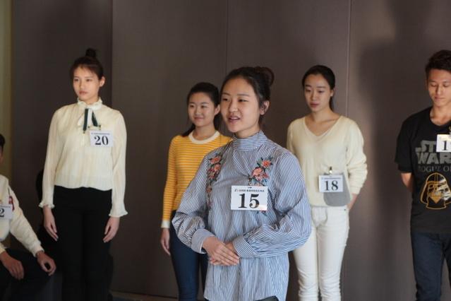 揭秘北京电影学院艺考现场图片