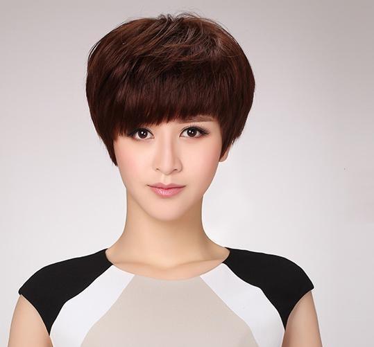 40岁女人减龄短发发型_35岁女人短发减龄发型1,四六