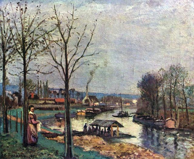 西洋名画欣赏:法国19世纪印象派画家毕沙罗作品图片