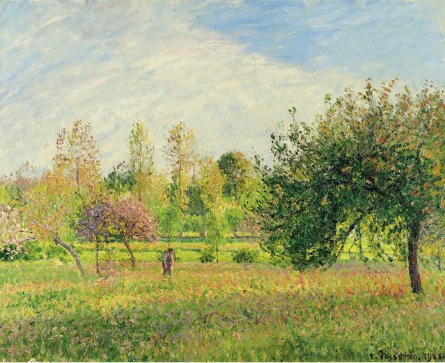 法国19世纪印象派画家毕沙罗作品欣赏图片