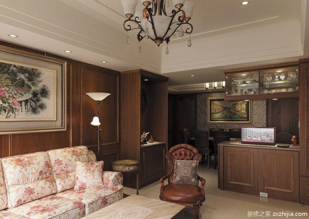 欧式客厅装修大全复式欧式客厅装修效果图_装修之家装修效果图图片