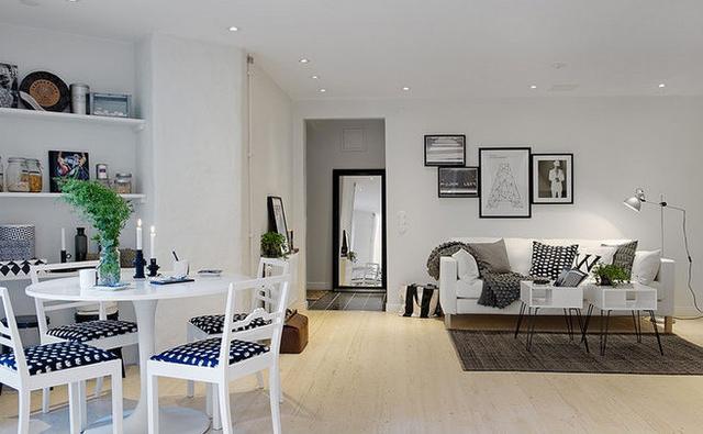 打造客厅亮点 15张美式沙发背景墙设计图图片