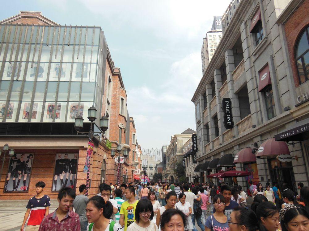 武汉楚河汉街图片