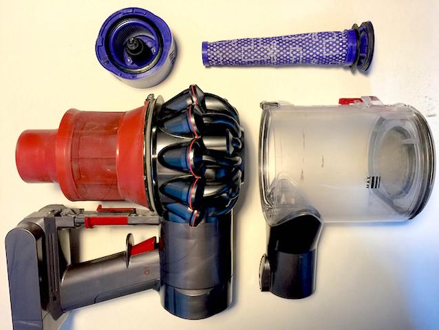 重温科技带来的愉悦感——戴森v6无绳吸尘器实测图片