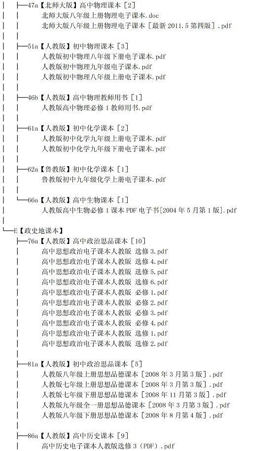 【高中电子课本人教版大全免费下载】