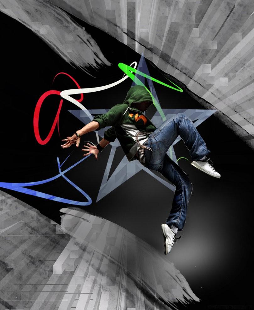 街舞高清壁纸_街舞工作室_街舞简笔画_韩国街舞   黑马素材网图片