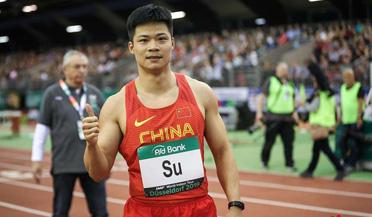 苏炳添6秒49再夺杜塞尔多夫赛60米冠军
