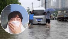 李易峰受北京暴雨惊吓 调皮直呼:不敢一个人睡