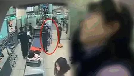 女子大闹机场辱骂拒安检