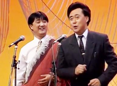 小品洛桑学艺,藏族小伙洛桑花式秀歌喉
