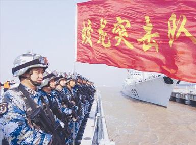 罕见曝光!揭秘中国海军神秘部队