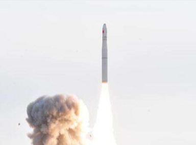 长征十一号固体运载火箭发射成功