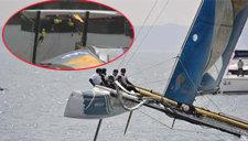 极限赛出意外丹麦队翻船
