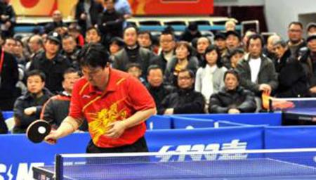 2017新民晚报迎新春乒乓球公开赛开拍