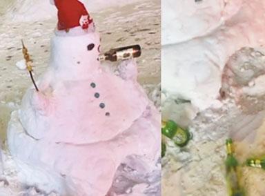 哈尔滨特色雪人笑翻网友