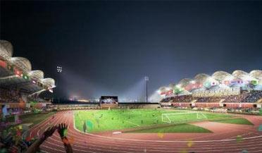 亚运场馆巡礼:江干区体育中心