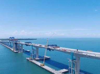 中国海外建设又造奇迹,攻克最难跨海大桥