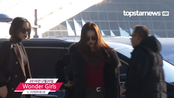 【topstarnews】Wonder Girls 仁川国际机场 出国