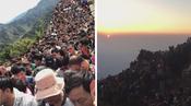 国庆各大美景盘点:people mountain people sea