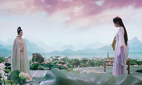 《香蜜沉沉烬如霜》第14集看点:天后欲杀锦觅,水神父女相认