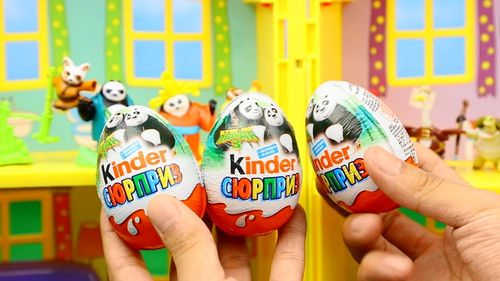 奇趣蛋 功夫熊猫3 惊奇蛋 拆蛋 功夫玩具