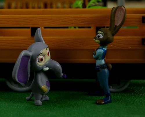 失踪的尼克,疯狂动物城,安迪尼克,阿紫玩具