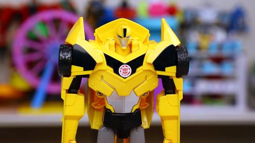 变形金刚 大黄蜂 三步变形汽车人 玩具试玩