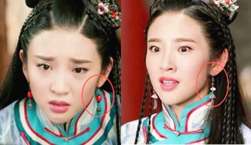 超哥找穿帮434期《独步天下》穿帮镜头 唐艺昕瞬间变化的耳环