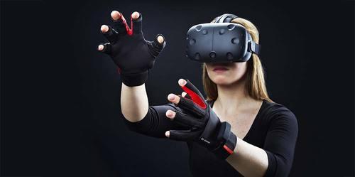 【黑马公社252】游戏神器,能精确感知每个手指动作的VR手套!