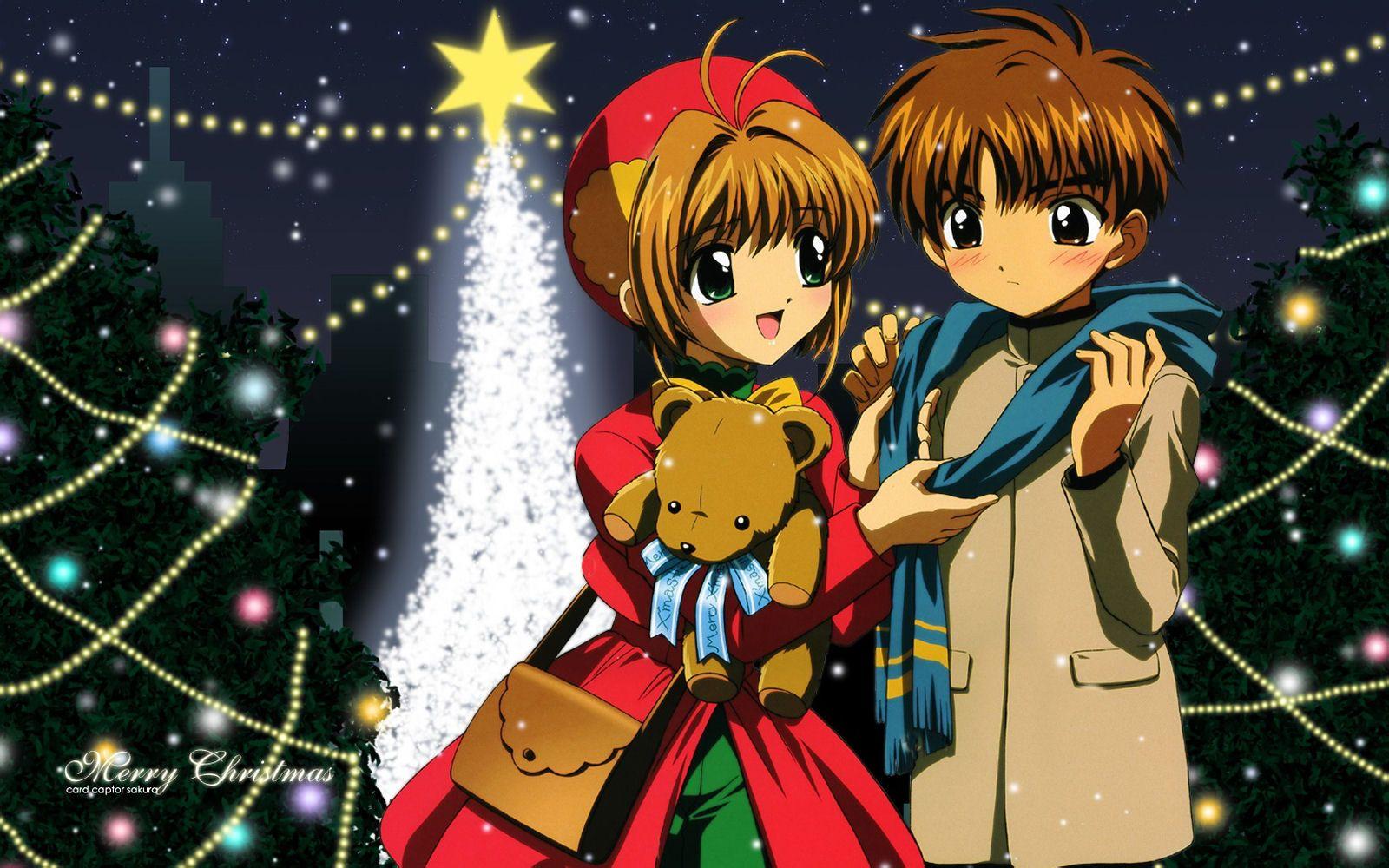 谁有魔卡少女樱里小樱与小狼的手机壁纸 备注 二人在一起高清图片