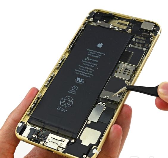 iphone6plus的wifi模块在手机上那个位置图片