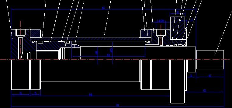 液压缸缓冲间隙参数计算图片