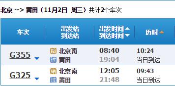 北京到莆田自驾游景点