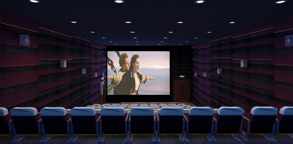 电影院简笔画_电影院看电影把片尾看完是不是最起码的尊重?