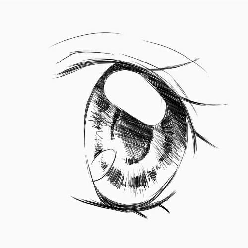 卡通漫画的眼睛怎样画简单的配图最好图片