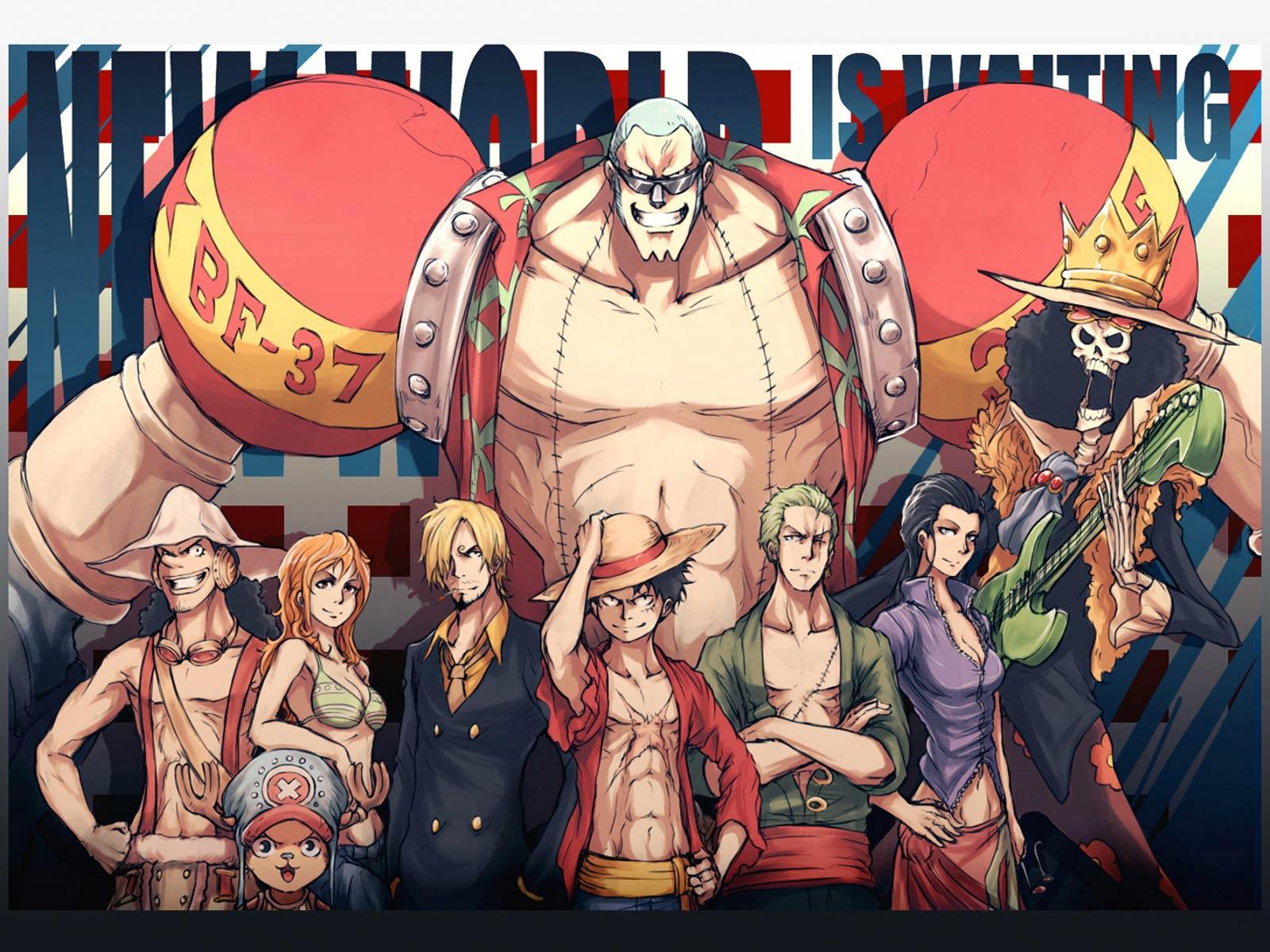 One Piece New World Characters Wallpaper 求海贼王草帽海�...