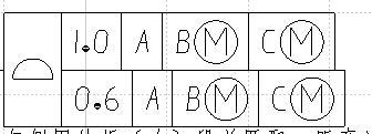 请教复合面轮廓度公差,请问下图这样的公差是什么意思