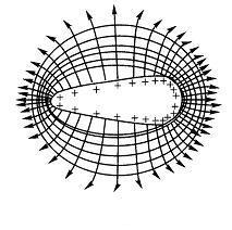 正电荷电力线
