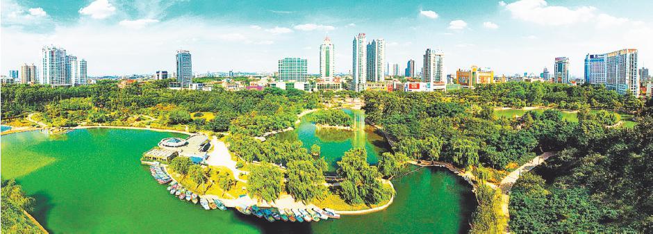 国家森林城市创建极大地促进了森林资源增长,成为全社会办林业的有效图片
