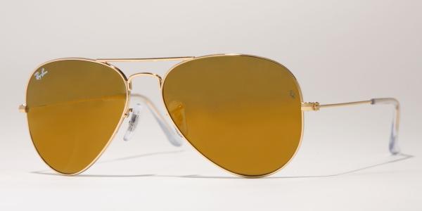 rayban aviator 3025  rb3025 w3274 gold; ray-ban