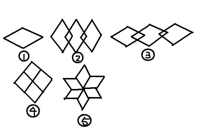 利用中心对称,轴对称,平移,旋转等图形变换设计一幅美丽的图案 316图片