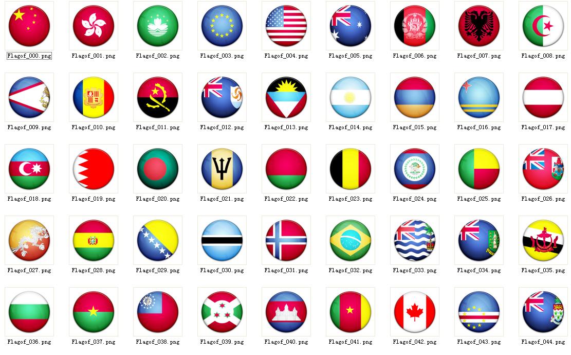 各个国家的国旗图片 所有国家的国旗图片 国家的国旗图片 高清图片