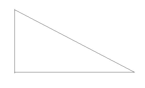 下面有一个直角三角形,请你在图中画一条线,是图中有3图片