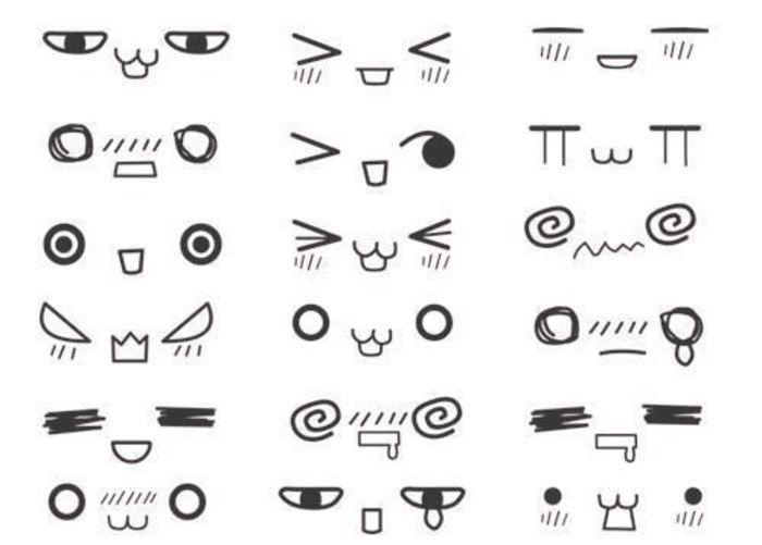 西方式的传统表情符号要将脸向左横转九十度才看得明白,所以当表情图片