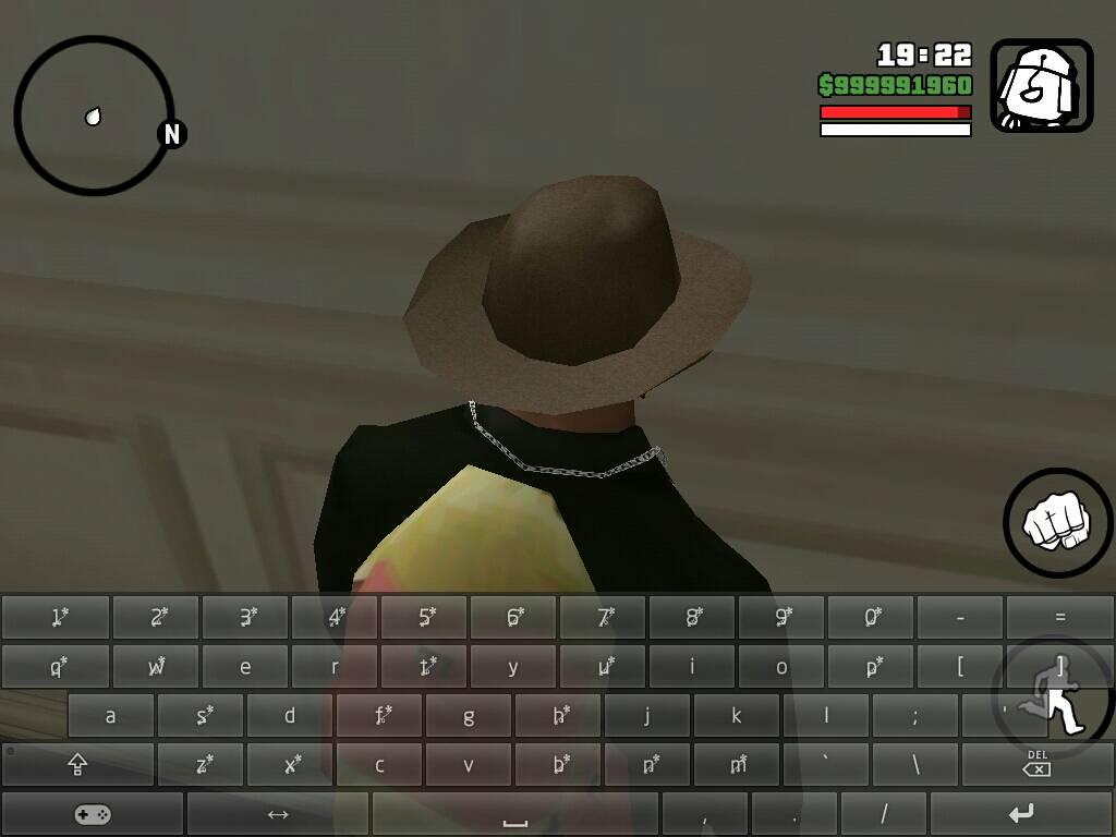 侠盗猎车圣安地列斯手机版用模拟键盘一按手机就闪来闪去,人还自动壁纸v手机屏幕图片