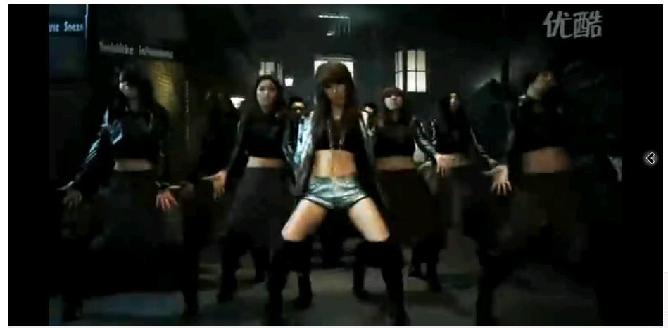 韩国各大性感美女组合热舞2010混音mv第1分45秒是